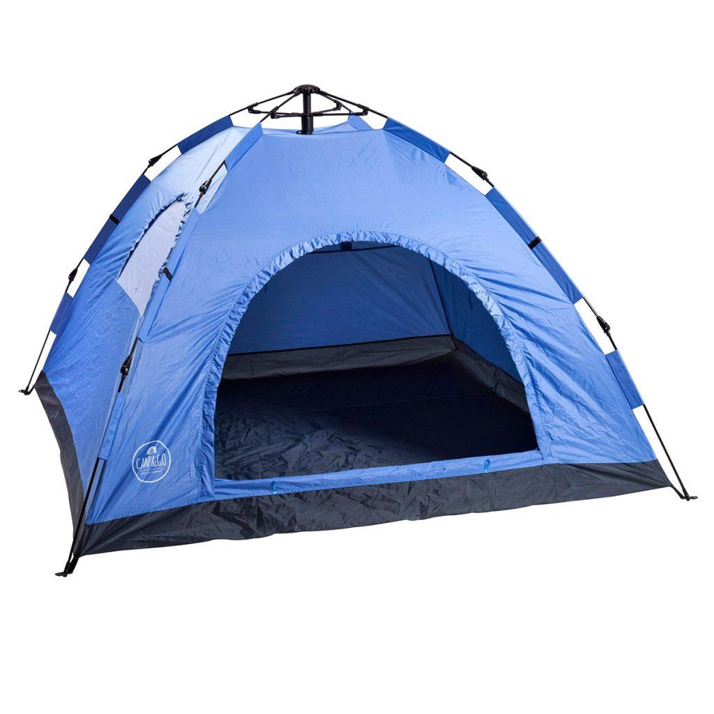 אוהל ל-6 אנשים פתיחה מהירה  CAMP&GO
