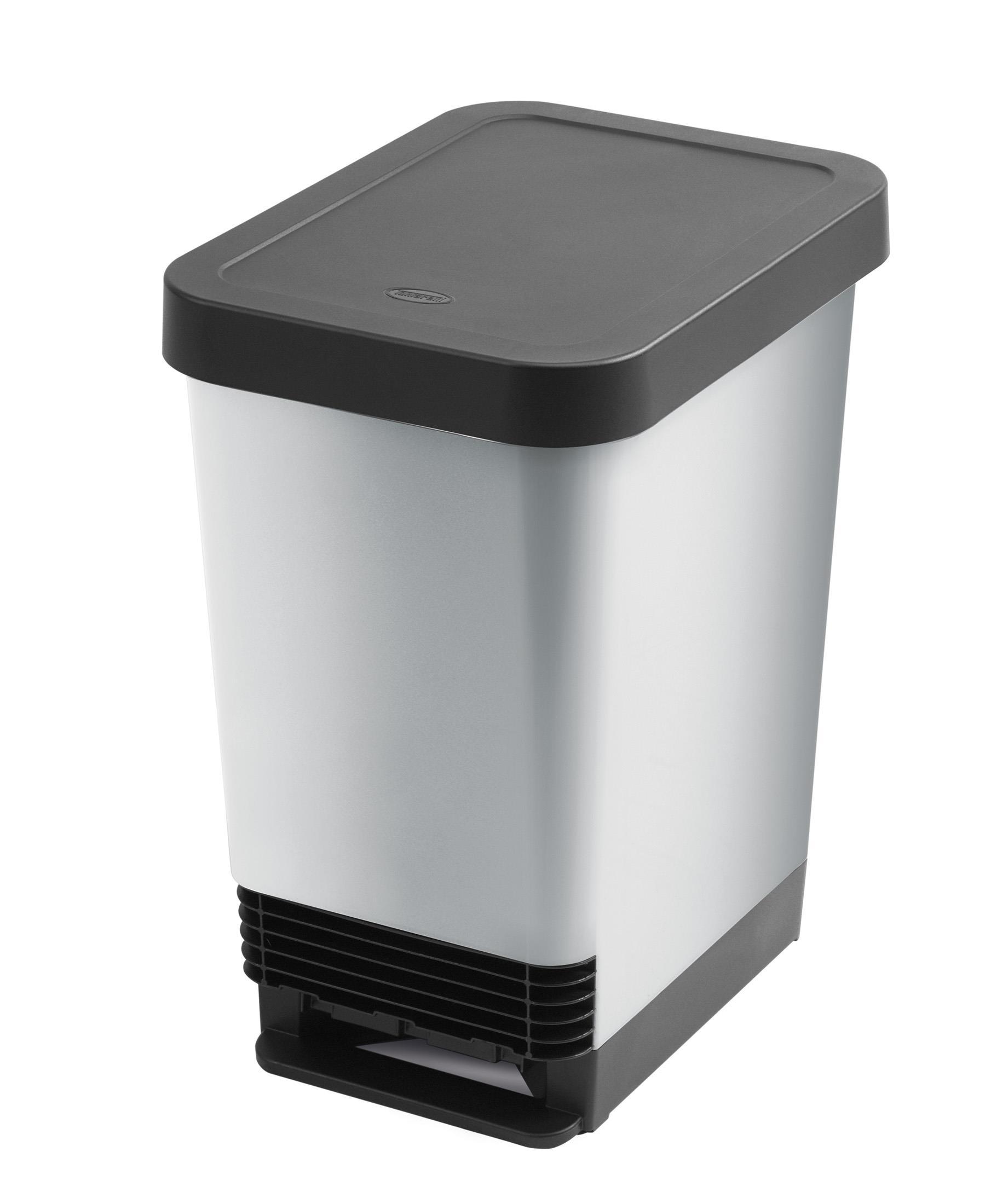 פח אשפה למטבח 25 ליטר - Curver דגם Deco Bin Slim
