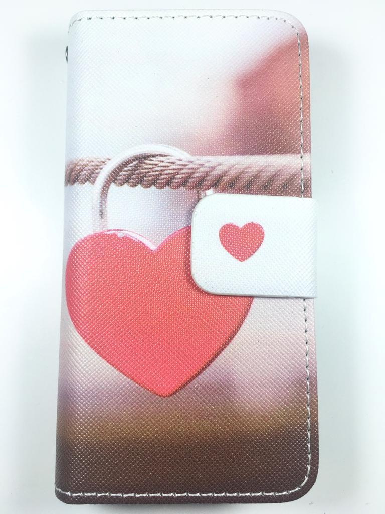 מגן ספר אונברסלי ביג סייז BIG SIZE דגם 'לב אדום'