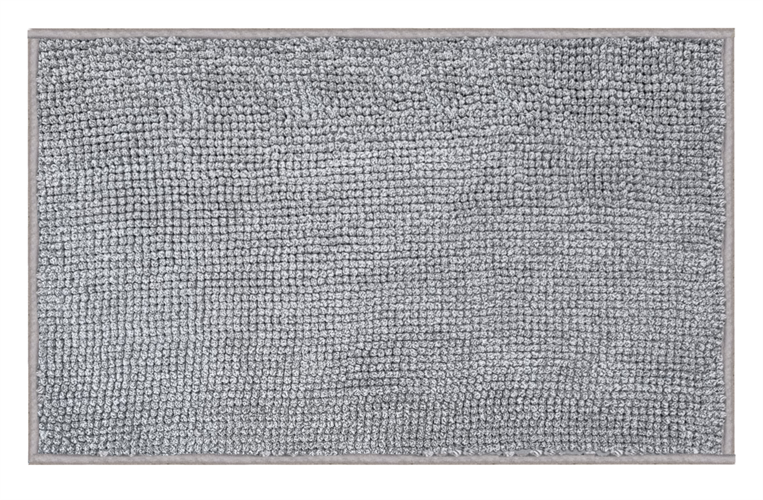 שטיח אמבטיה נצמד איכותי ונעים במיוחד - Gray Shagi