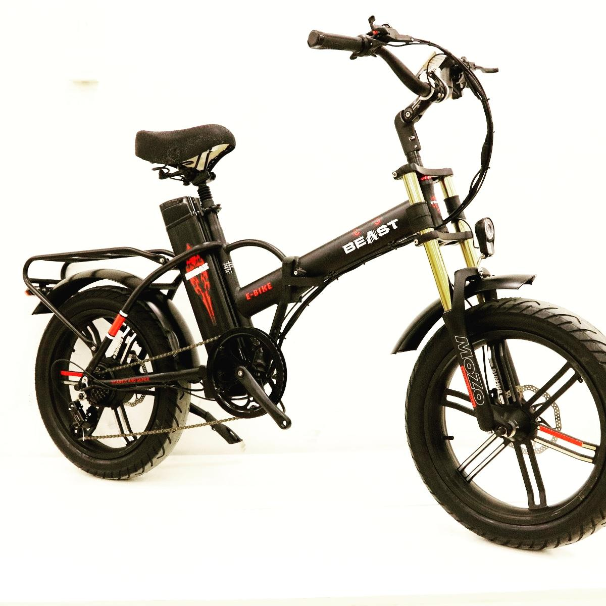 BEAST אופניים חשמליים 48V 20A מבית EBMAX
