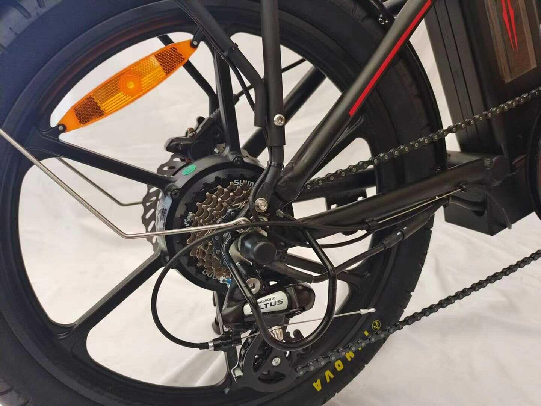 אופניים חשמליים מיני פאט שיכוך מלא 48V 20A EBMAX