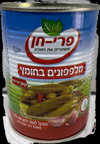מלפפון 13-17  בחומץ  600 גרם פרי חן - מבצע 3 יח'