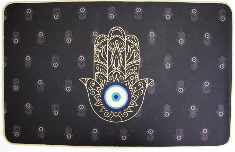 שטיח גומי פאלאס חמסה שחור