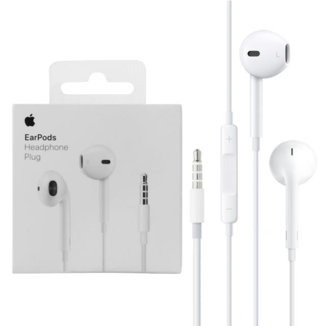 אוזניות חוטיות 3.5 Apple MD827ZMB אפל במלאי