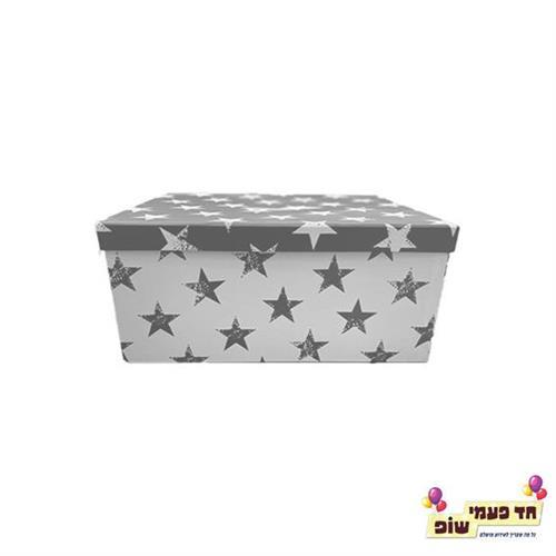 קופסא כוכבים כסף מידה 4