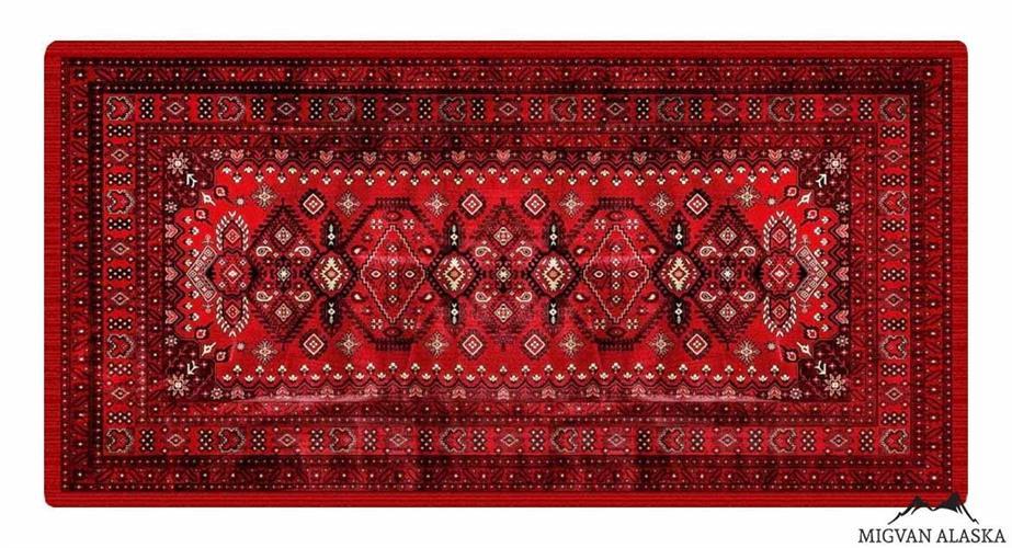 שטיח מטבח דגם - 221 מבד שאניל איכותי (מתנקה בקלות!)