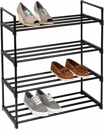 מעמד נעליים 4 קומות מודולארי מתכת