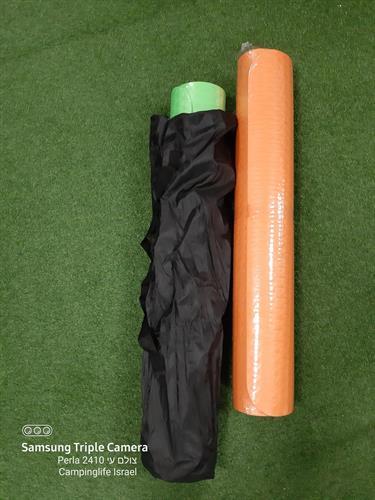 תיק נשיאה ואיכסון מזרן שטיח יוגה  אורך 1.9 מטר רוחב 90 סמ' לפילאטיס והתעמלות כללית