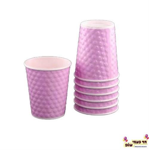 כוס בועות סגול