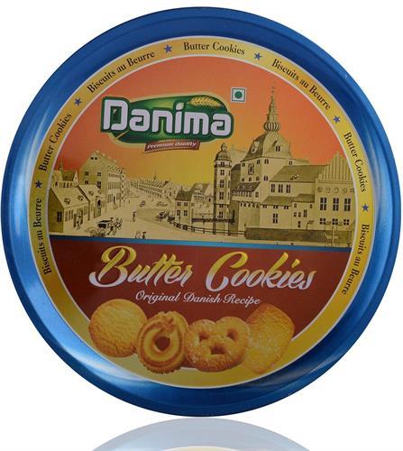 עוגיות חמאה 340 גרם  DANIMA - מבצע 2 יחידות