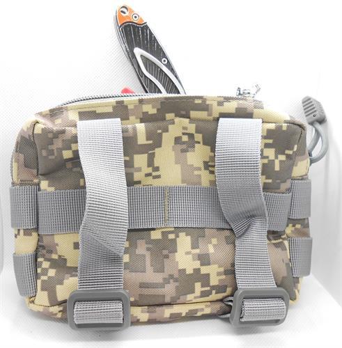 תיק לשטח פאוץ' לאיכסון דברים אישיים בסיגנון צבאי טקטי