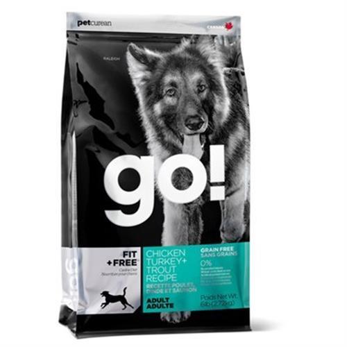 """815260000697 מזון יבש לכלבים בוגרים 10 ק""""ג GO!"""