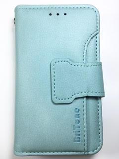 מגן ספר ברייטון BriTone לנוקיה 208 NOKIA בצבע תורכיז בהיר