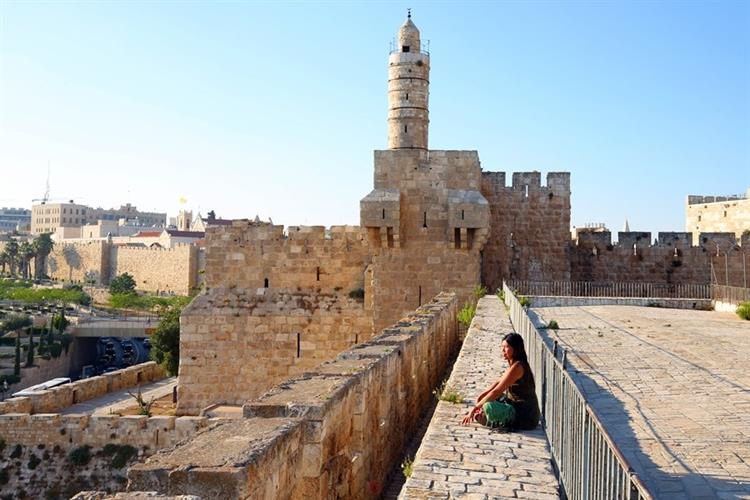 Support Israel and get this picture: Tower of David