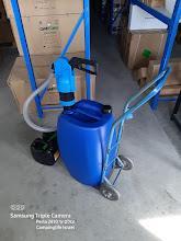 משאבת נפט עם מתאם למיכלים 11 18 20 25 30 60 ליטר