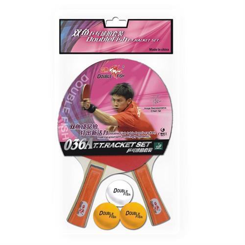 מחבט טניס שולחן מקצועיים ITTF DOUBLE FISH