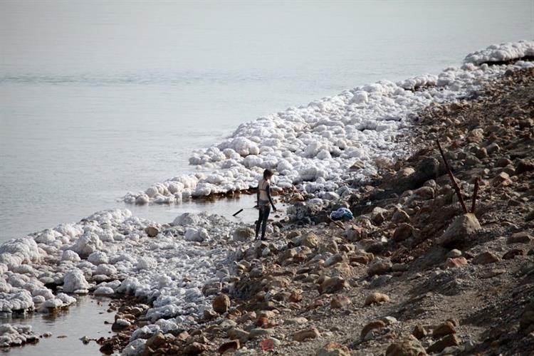 Support Israel and get this picture: The Dead Sea