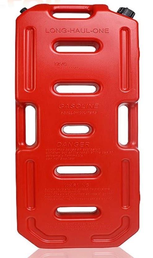 מיכל 20 ליטר  שטוח  ג'ריקן  דלק  מתאים לסולר בנזין  או מים  צבע (אדום חסר) כעת בצבע צהוב בלבד