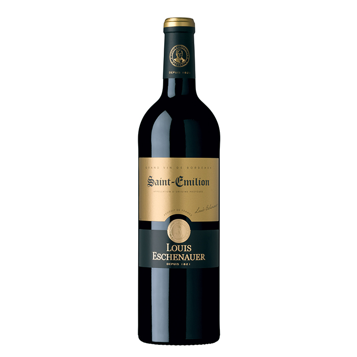 "יין צרפתי LOUIS ESCHENAUER סנט אמיליון 750 מ""ל"