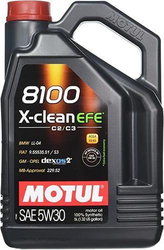 שמן מנוע 5 ליטר MOTUL 8100 5W30