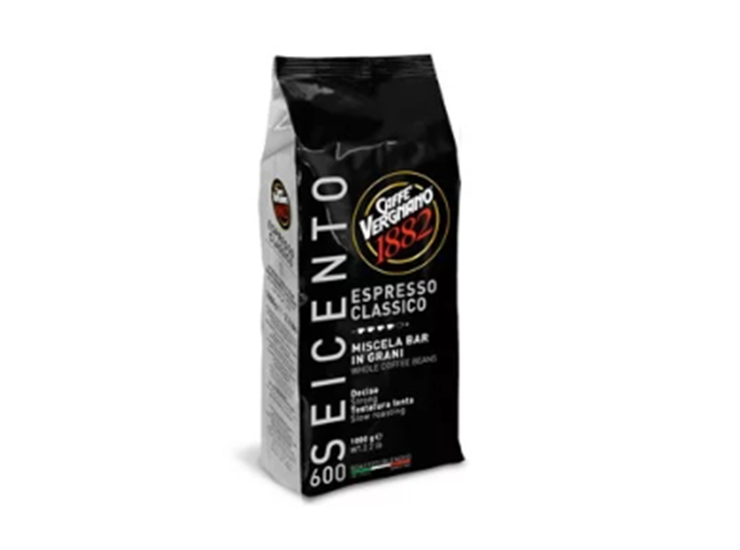 """פולי קפה 1 ק""""ג  60% ערביקה 40% רובוסטה ESPRESSO CLASSICO 600"""