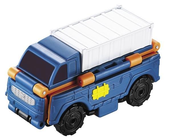 טרנסרייסר- 2 ב-1 משאית מטען ומשאית העמסה