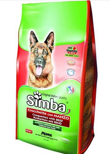 סימבה לכלב 20 קג בקר