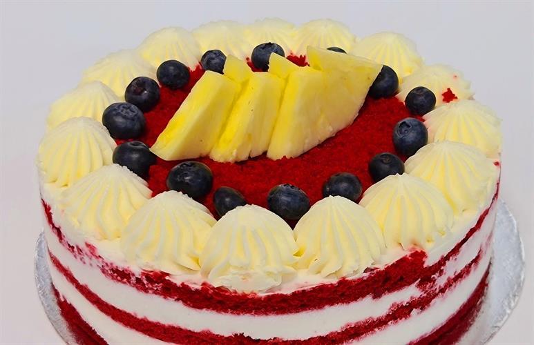 Raspberry cake - עוגת פטל