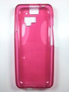 מגן סיליקון לkosher mobile k35 בצבע ורוד