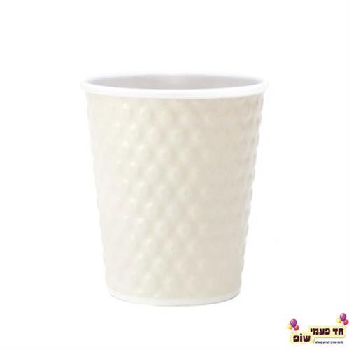 כוס בועות לבן