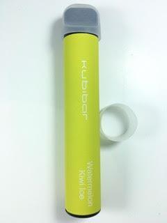 סיגריה אלקטרונית חד פעמית כ 1500 שאיפות Kubibar Disposable 20mg בטעם אבטיח קיווי Watermelon Kiwi Ice