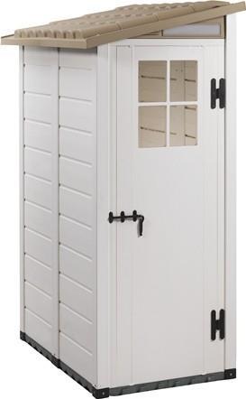 מחסן חצר טוסקני צד דלת אחת דגם 100.1