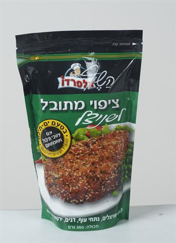 פירורי לחם (מיקס)  ציפוי מתובל לשניצל בישקיביץ 400 גרם