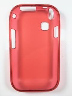 מגן סיליקון לסמסונג C3300 SAMSUNG בצבע אדום
