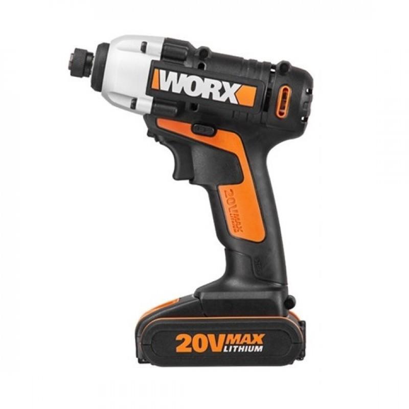 מברגת אימפקט נטענת 20V דגם WX290.2 תוצרת WORX