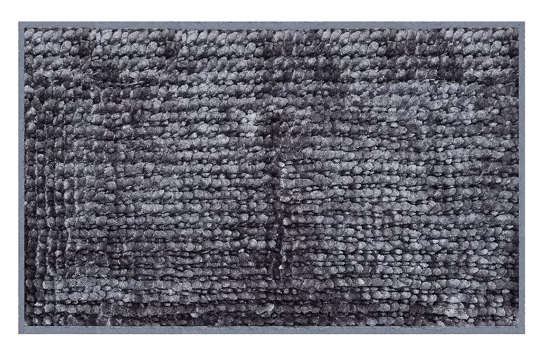 שטיח אמבטיה נצמד איכותי ונעים במיוחד - Bright Gray