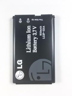 בטריה 950mAh/3.7V ל LG B220