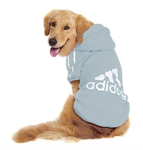 ADIDOG קפוצ׳ון לכלב מידה 3XL לגזע מיני בינוני 11-9 קג צבע תכלת