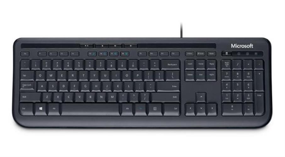 מקלדת Microsoft Wired Keyboard 600