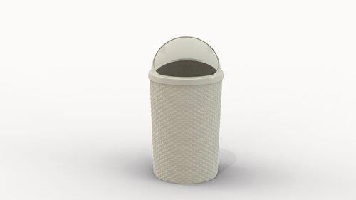 פח אשפה כתר 30 ליטר בעיצוב ראטן