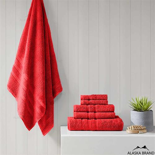 מגבות עבות דגם פרימיום - Premium *כושר ספיגה גבוה* אדום