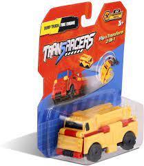טרנסרייסר- 2 ב-1 משאית עפר וכבאית
