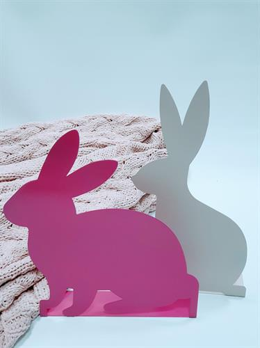 זוג ארנבות פודרה פוקסיה