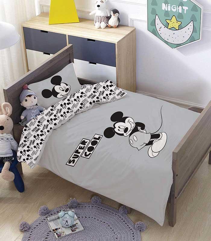 מותגים למיטת מעבר \ תינוק - סופר קול 100% כותנה