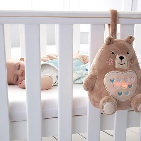 בני הדוב - חבר שינה (בובת רעש לבן)