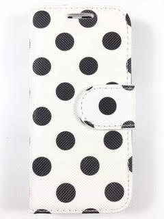 מגן ספר לנוקיה 208 NOKIA דגם 'נקודות שחור'