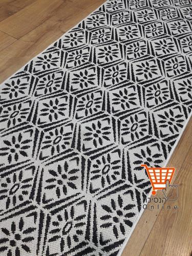 שטיח למטבח גאומטרי