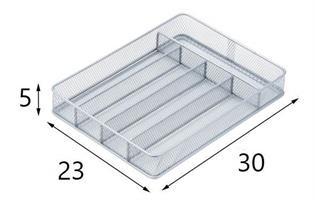 """מתקן חלוקה לסכו""""ם 5 תאים דגם KCH-02154 מבית honey can do ארה""""ב"""