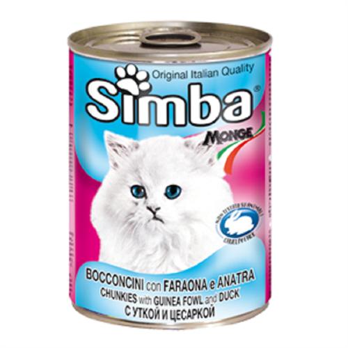 שימור סימבה חתול -ברווז